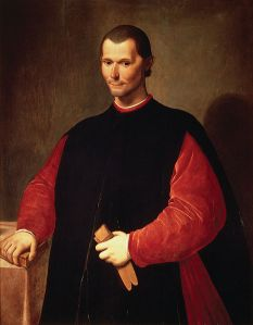 Portrait of Niccolo Machiavelli