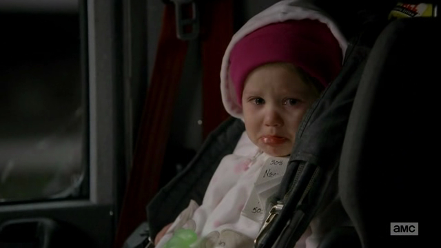 Do they give Emmys to babies? Because this girl deserves one.