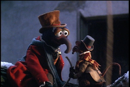 And why Gonzo should be on the bookjacket of A Christmas Carol.