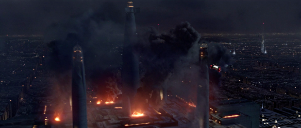 The Jedi Temple after the Massacre in Episode 3: Revenge of the Sith