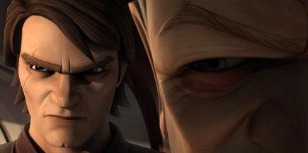 Palpatine and Anakin in The Clone Wars