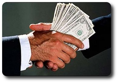 A firm handshake can be the key to getting a job... also a bribe never hurts.