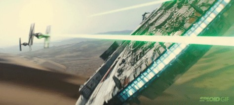 Though I guess I can take solace in the fact that, even 30 years later, Tie Fighter pilots still can't shoot straight.