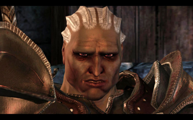 """""""When fellow qunari asked if there were worthy people outside Par Vollen, Sten would answer that in all his travels he had only met  one."""" - Sten's Ending"""