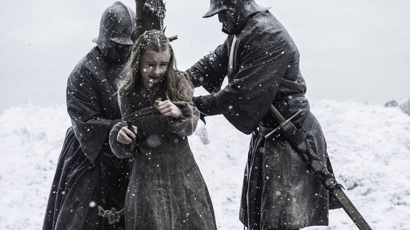 Personally, after this scene, I was looking forward to Ramsey flaying Stannis alive.