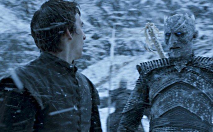 Night King and Bran