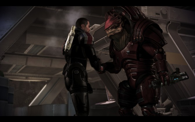 Wrex versus Drack: Nuanced versus Obvious Writing