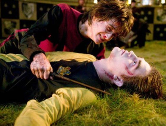Harry Potter death of Cedric
