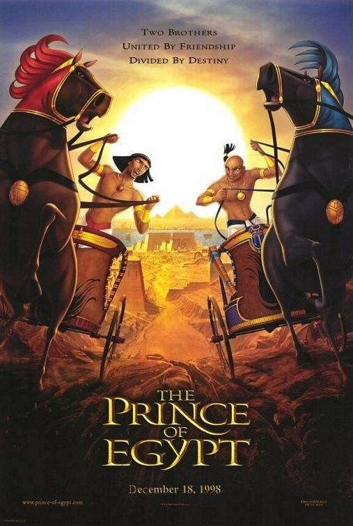 Prince of Egypt poster