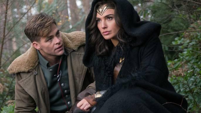 Steve and Wonder Woman