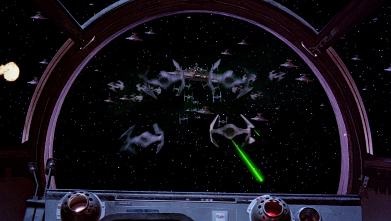 Tie Fighter Screen