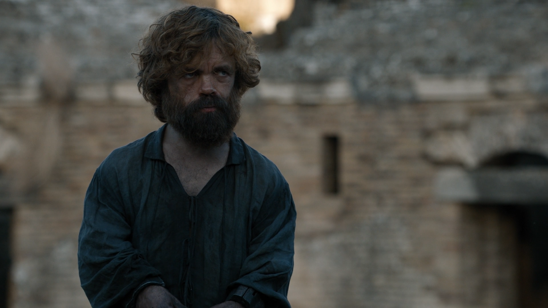 Tyrion end of Season 8 of Game of Thrones.